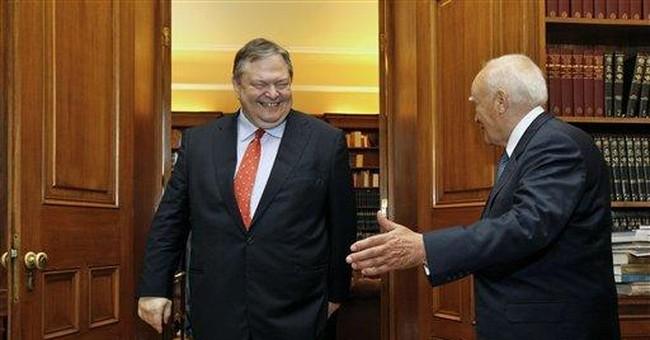 Hopes rise for Greece power-sharing talks