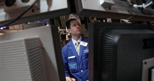 Dow breaks 6-day losing streak, barely