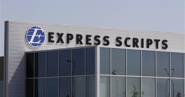 Express Scripts 1Q profit slips 18 percent