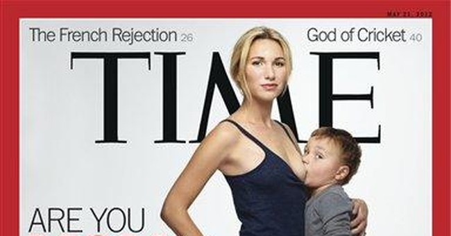 Time cover shows mom breastfeeding 3-year-old
