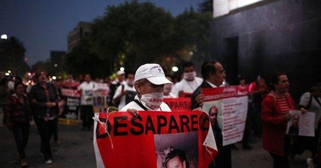 Mexico mothers of missing march on their day
