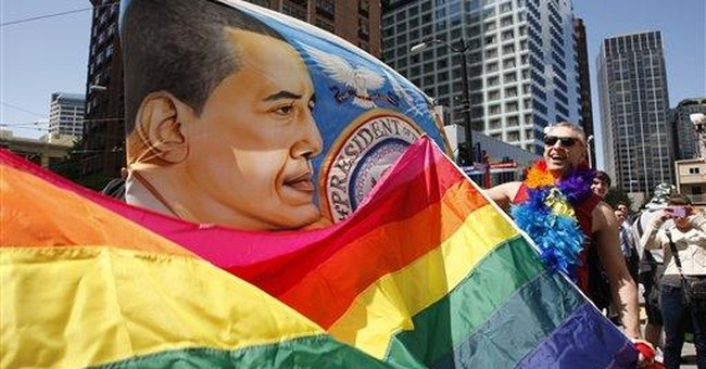 Gay marriage adds complexity in swing states