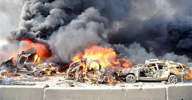 Suicide bombings, large blasts in Syria's uprising