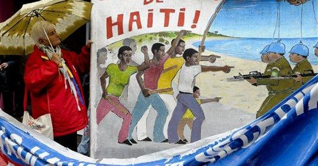 Haitian who alleges abuse testifies in Uruguay