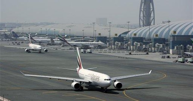 Emirates airline profits hit by higher fuel bill