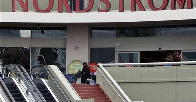 Nordstrom's 1Q profit rises 2.7 percent
