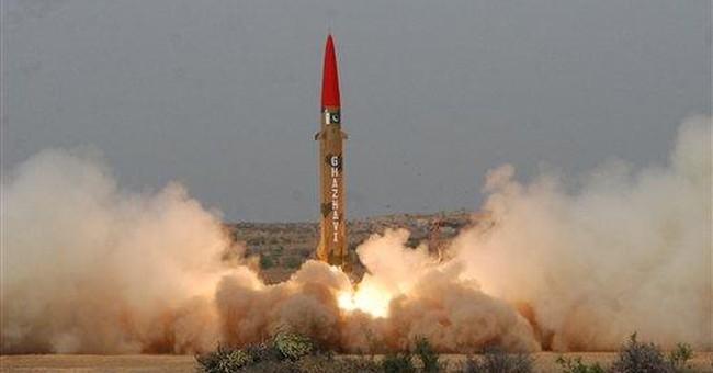 Pakistan says it test-fires short-range missile
