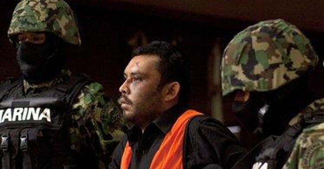 Mexico catches suspect in killing of 4 marines