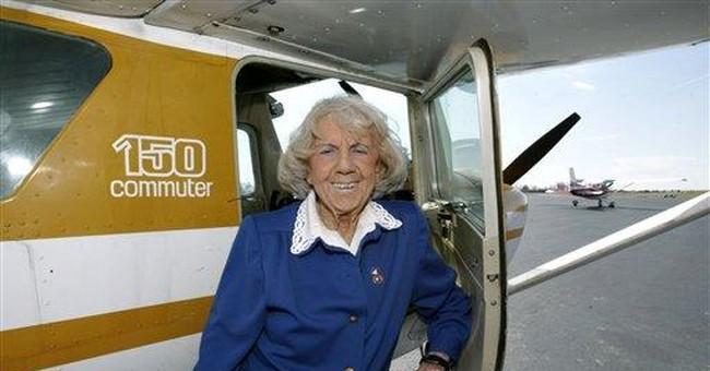 Early female pilot Evelyn Bryan Johnson dies, 102
