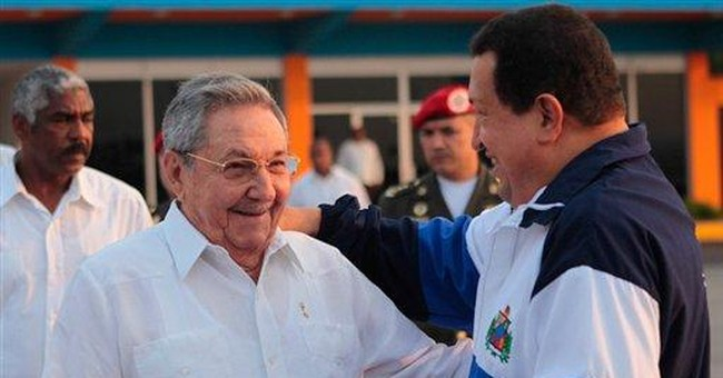 Chavez returns home after cancer treatment in Cuba