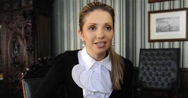 AP Interview: Tymoshenko's daughter champions mom