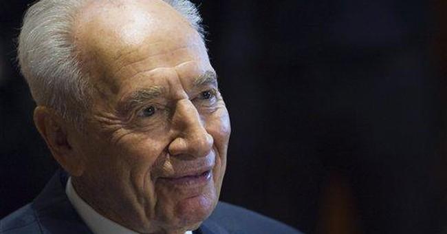 Israeli president released from hospital