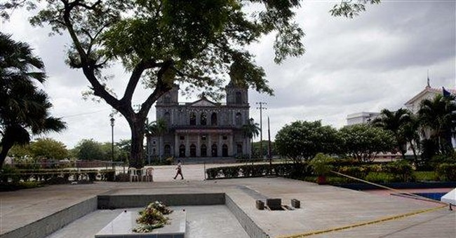 With burial, Nicaragua party tries to create hero