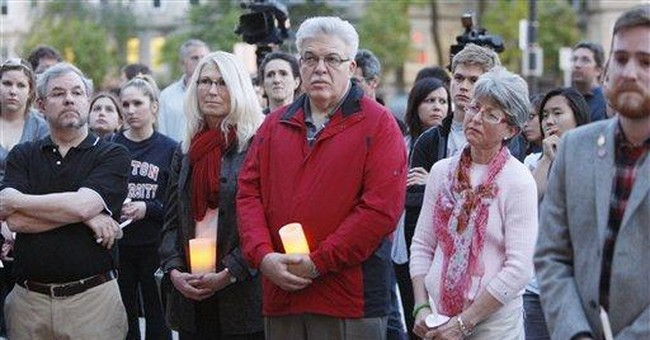 Vigil held for Boston U. students killed in crash