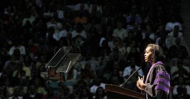 Michelle Obama urges NC A&T grads to seek change
