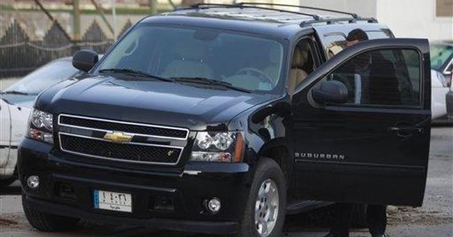 In Iraq, car perk overrides promises to public