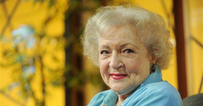 Betty White reveals her presidential preference