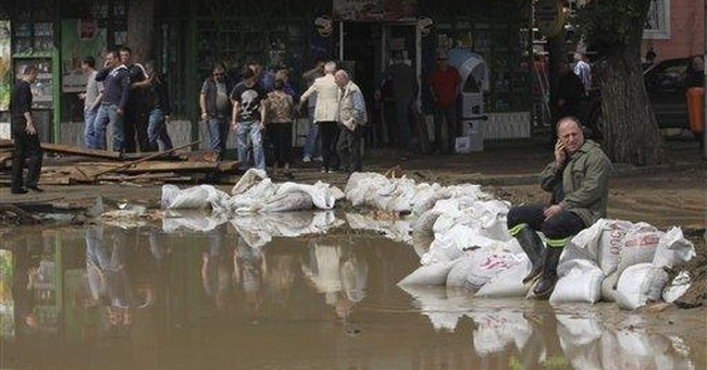 5 die as river bursts banks in Georgia's capital