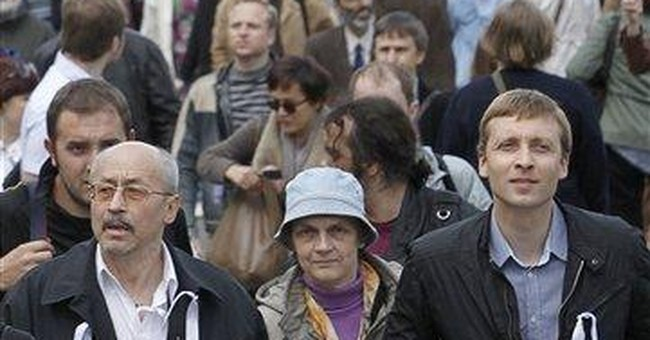 Thousands take  civic action in Russia