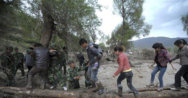 Death toll in China storm rises to 44; 26 missing