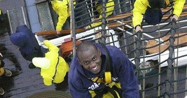 New Coast Guard grad was rescued at sea as a boy
