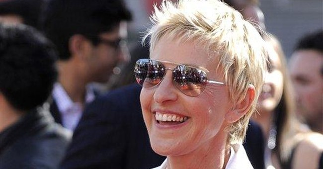 Ellen DeGeneres wins top US humor prize in DC