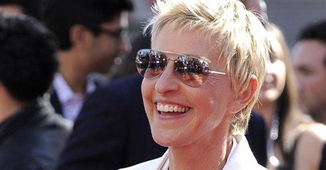 Ellen DeGeneres wins top US humor prize in DC
