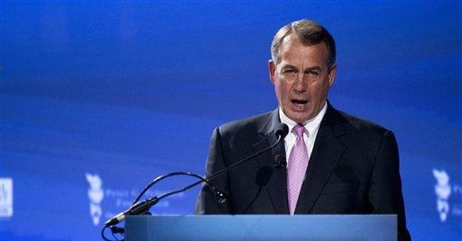 Boehner: Spending cuts must exceed debt limit hike