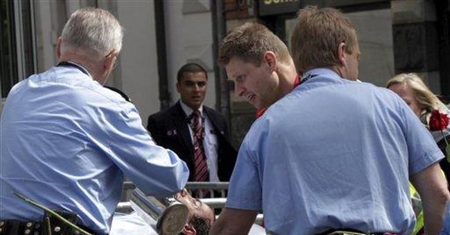 Man sets himself on fire outside Breivik trial