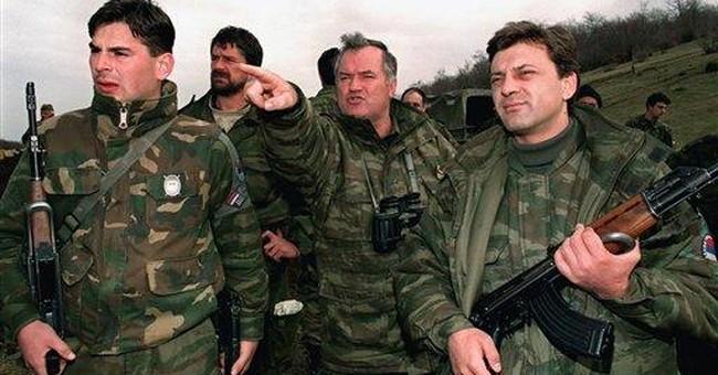 War crimes charges against Mladic