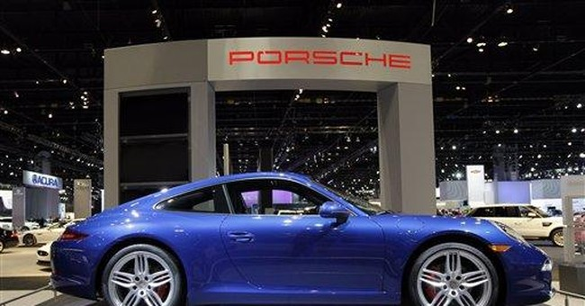 New generation Porsche icon