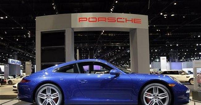 New generation Porsche icon