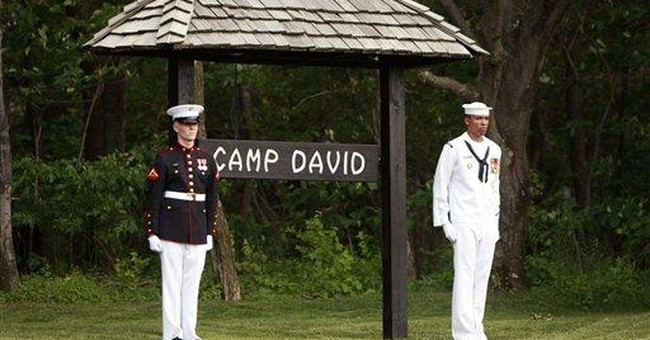 Summary Box: G-8 leaders coming to Camp David