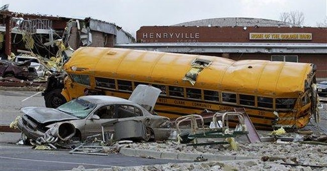 'Lady A' fetes students in tornado-hit Ind. town