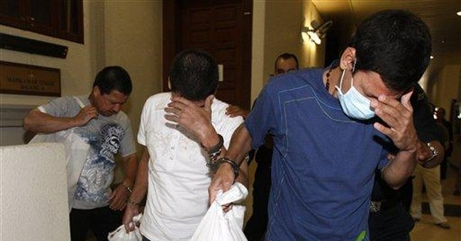 Malaysia sentences 3 Mexicans to death over drugs