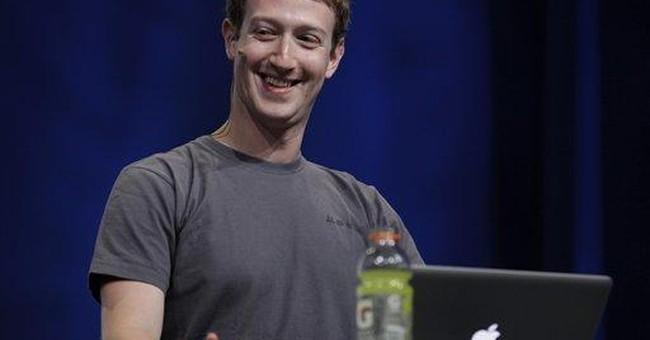 Zuckerberg's Facebook story is study in contrasts