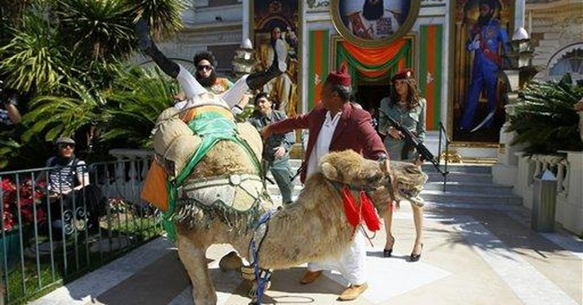 'The Dictator' takes his camel out in Cannes