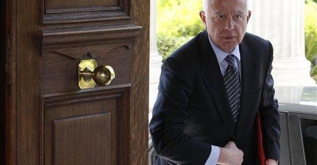 Greece gets caretaker PM until new vote in June