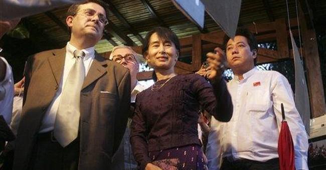 Myanmar welcomes easing of US economic sanctions