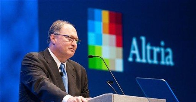 Altria CEO conducts his final shareholder meeting