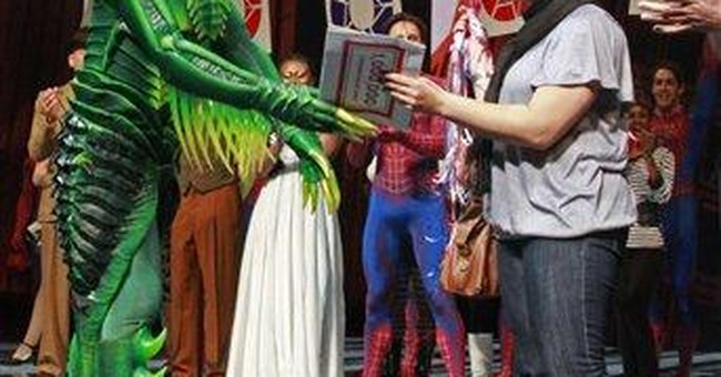 Judge gives boost to ex-stunt man at 'Spider-Man'