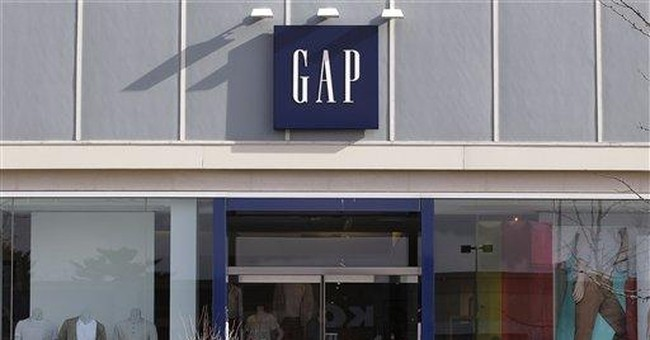Gap 1Q profit flat but outlook bright, shares rise