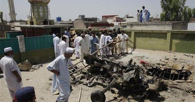 Pakistani air force planes crash, 4 pilots killed