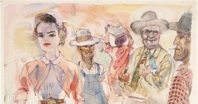 Exhibit shows Grosz's take on Dallas in '52