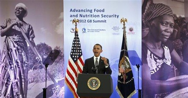 Obama touts $3B in pledges to help feed Africa
