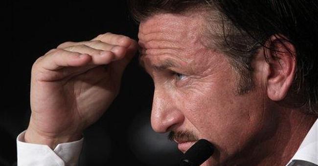 Sean Penn holds Haiti fundraiser at Cannes