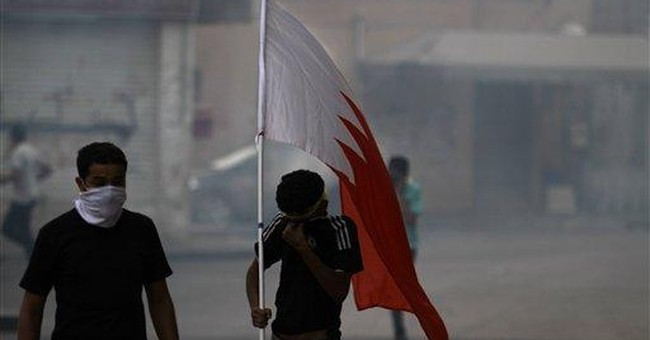 Iranians rally to denounce Bahrain-Saudi ties