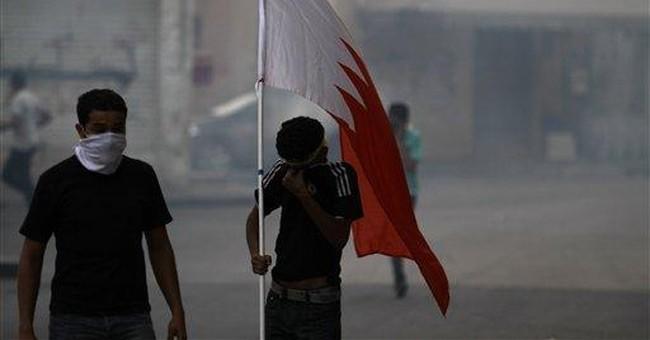 Iranians rally to denounce Bahrain-Saudi ties