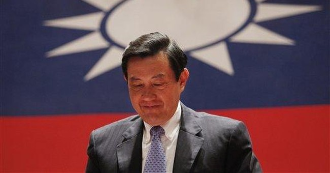 China shadow looming, Taiwan's Ma set for 2nd term