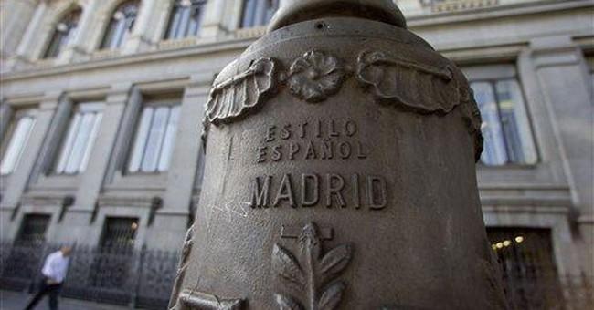 Greek politics, Spain banks test eurozone survival
